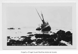 Al - Ki, a passenger steamer, wrecked on Point Augusta, Alaska, November 1, 1917