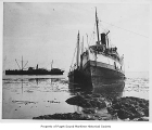 City of Seattle, a passenger steamer, ashore in Alaska, August 15, 1912