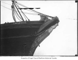 Figurehead on Charger, a full rigged sailing ship, n.d.