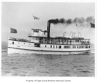 Daily, a passenger steamer, at sea, n.d.