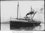 Anyox, a steam tugboat, at sea, n.d.