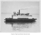 City of Mukilteo, a steam ferry, at sea, n.d.