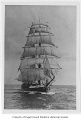 Amazon, a sailing barkentine, at sea, n.d.