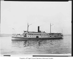 City of Kingston, a passenger steamer, at sea, n.d.