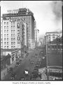 Stewart Street from First Avenue, Seattle, ca. 1927