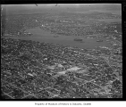Aerial of Lake Union from southwest, Seattle, 1936