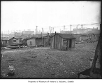Shacks on tideflats, Seattle, 1910