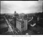 View from Exchange Building along Second Avenue, Seattle, May 5, 1930