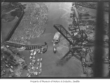Aerial of Duwamish River and Spokane St. Bridge looking south, Seattle, June 15, 1938