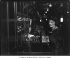 Woman at switchboard, Seattle, ca. 1922