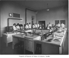 University of Washington cooking class, Seattle, ca. 1918