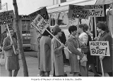 Abortion reform demonstration, Seattle, 1970