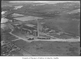 Aerial of Diamond Cement Plant looking northwest, June 16, 1938
