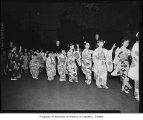 Children dancing at Bon Odori festival, Seattle, August 1, 1959