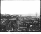 View from Washington Hotel looking southwest, Seattle, ca. 1900