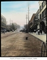 Second Avenue north from Union Street, Seattle, ca. 1900