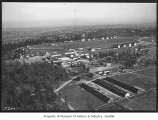 Aerial of Fort Lawton looking southeast, Seattle, ca. 1934