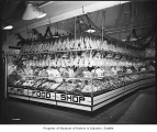 Pure Food Shop in Pike Place Market, Seattle, 1945
