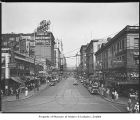 Pike Street east from First Avenue, Seattle, September 6, 1929