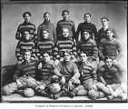 University of Washington football team, Seattle, 1898
