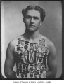 Don Palmer, University of Washington track star, Seattle, ca. 1899