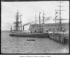 Ships on waterfront, Seattle, ca. 1905