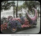 Chamber of Commerce float in parade, Seattle, ca. 1925