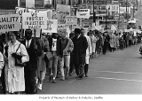 Civil rights march, Seattle, 1965