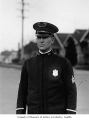 Police captain George Kimball, Seattle, August 1931