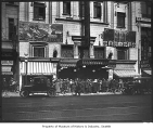 Crowd outside Strand Theater, Seattle, ca. 1922