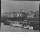 Boats at Galbraith Dock, Seattle, ca. 1908