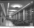 Sea-Tac Airport south concourse, Bow Lake, 1949