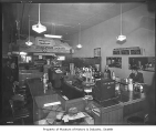 Stratoplane Luncheonette interior, Seattle, 1945