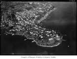 Aerial of Laurelhurst neighborhood from southwest, Seattle, December 15, 1938