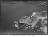 Aerial of Kurtzer Seaplane Terminal, Seattle, August 12, 1938