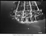 Aerial of Madison Park neighborhood from north, Seattle, June 27, 1938
