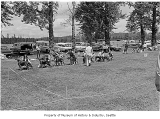 Dog show at Marymoor Park, Redmond, 1971