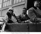 Mayor Bertha Landes and Charles Lindbergh, Seattle, September 13, 1927
