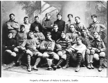 University of Washington football team, Seattle, 1896