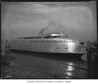 Ferry Kalakala, Seattle, 1946