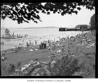 Madison Park beach, Seattle, 1941