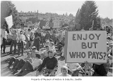 Rally against the Burke Gilman Trail, Seattle, 1971