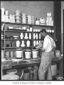 Ceramics room at University of Washington, Seattle, ca. 1925