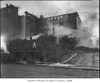 Fire at Lincoln Hotel, Seattle, April 7, 1920
