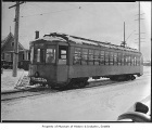 Streetcar on snowy day, Seattle, ca. 1930