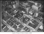 Aerial of downtown Seattle, August 9, 1933