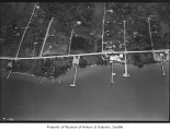 Aerial of Houghton from west, May 30, 1933