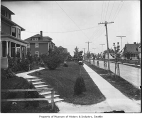 Houses in University District, Seattle, ca. 1905