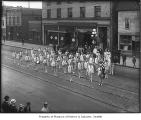 Elks Club Band, Seattle, 1917