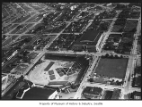 Aerial of National Guard Armory, Seattle, June 29, 1939